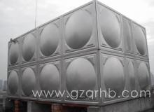 24吨不锈钢消防备用水箱安装现场